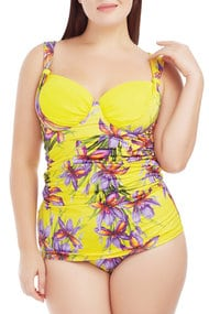 Swimsuit-tankini with a condensed cup