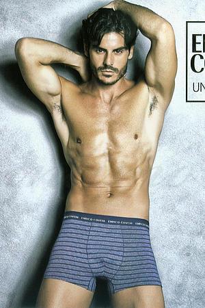 Трусы мужские boxer, хлопок Enrico Coveri, Италия EB1612 фото