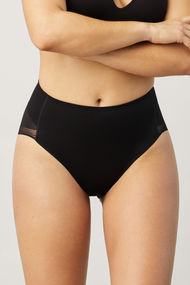 Corrective panties slip with mesh