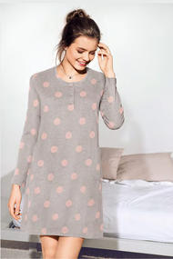 Homecare dress, cotton