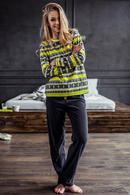 Пижама, хлопок Key LHS987B7