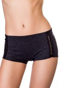 Panties shorts, viscose, wool