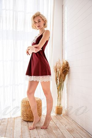 Сорочка, модал, бавовна Ora, Україна 100302 фото