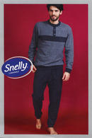 Домашний костюм, хлопок Snelly 79671