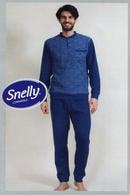 Домашній костюм, бавовна Snelly 79663