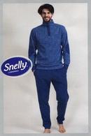 Домашній костюм, бавовна Snelly 79664