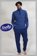 Домашний костюм, хлопок Snelly 79664