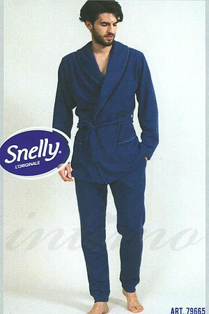 Халат, хлопок Snelly, Италия 79665 фото