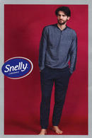 Домашний костюм, хлопок Snelly 79669