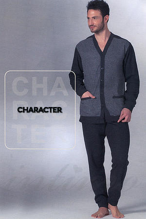 Домашній костюм, бавовна Character, Італія P517 фото