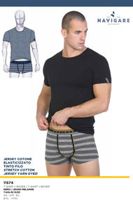 T-shirt Mike and briefs for men boxer, cotton