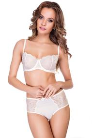 Set of underwear: bra soft cup and panties shorts
