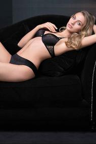 Set of underwear: bra push up and panties brazilian