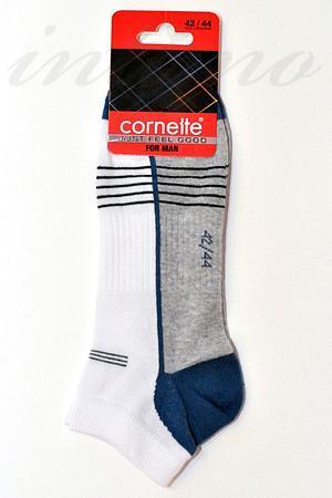Носки мужские для спорта, хлопок Cornette, Польша Stopki-1 фото