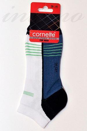 Носки мужские для спорта, хлопок Cornette, Польша Stopki-5 фото