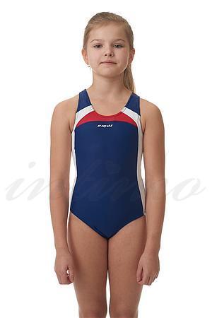 Слитный купальник для девочки Emdi, Россия 01-1703-100 фото