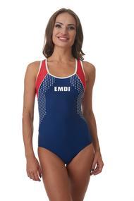 Спортивный купальник с мягкой чашкой