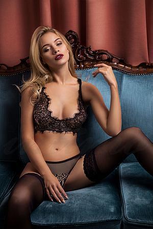 Комплект белья: бюстгальтер с мягкой чашкой и трусики бразилиана Intimo lingerie, Украина Macademia фото