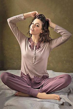 Товар с дефектом: пижама Lormar, Италия 65521I/14 фото