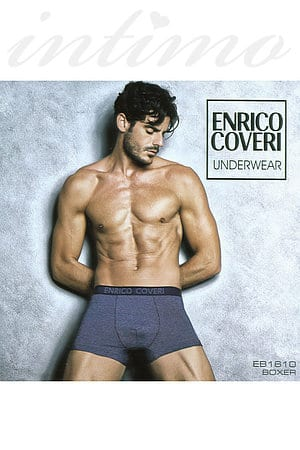 Товар з дефектом: труси чоловічі boxer, бавовна Enrico Coveri, Італія EB1610 фото