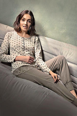 Товар с дефектом: пижама Lormar, Италия 65541I фото