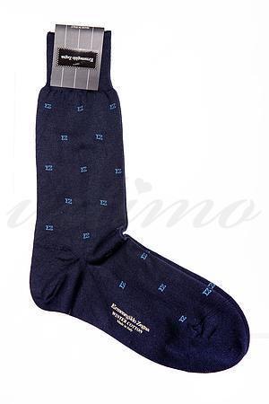 Шкарпетки чоловічі, бавовна Ermenegildo Zegna, Італія ZA9992-9 фото