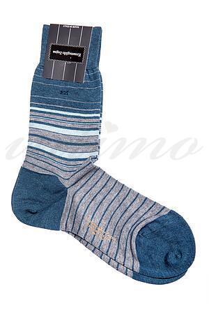 Шкарпетки чоловічі, бавовна Ermenegildo Zegna, Італія ZA1752 фото