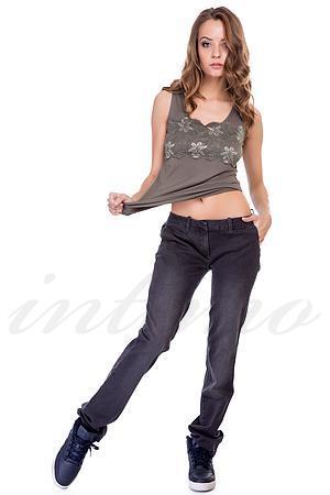 Товар с дефектом, джинсы, хлопок MET, Италия J100-5/П фото