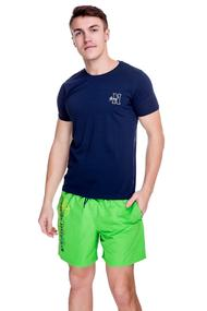 Set: T-shirt and shorts, cotton<br>
