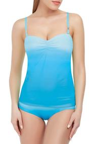 swimsuit-tankini with a condensed cup, melting slip