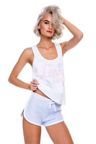 T-shirt and shorts, cotton