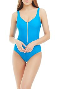 Sports swimsuit with a cup compacted