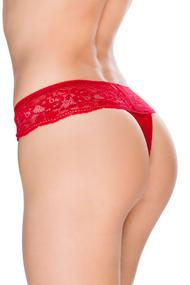 Thong panties, cotton
