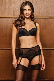 Underwear: push up bra and panties Brazilian