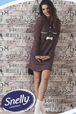 Домашнее платье, хлопок Snelly, Италия 64993 фото