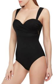 Swimsuit fused balconette with compacted cup