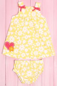 Dress and panties, cotton
