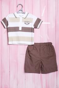 Костюмчик для мальчика: футболка поло и шортики, хлопок