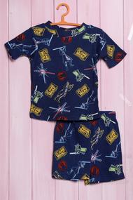 Летний костюм для мальчика: футболка и шортики, хлопок