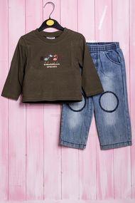 Костюмчик для мальчика: джемпер и штанишки, хлопок