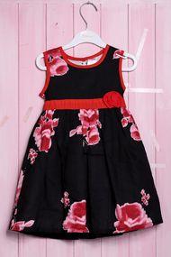 Нарядное платье без рукава для девочки , хлопок