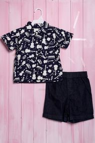 Костюмчик для мальчика: тенниска  и шортики, хлопок, код 56425, арт 20159