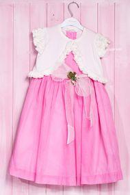 Комплект: Платье и кофточка