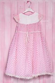 Нарядное платье-трапеция для девочки с пышной юбкой