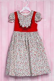 Нарядное платье для девочки, хлопок