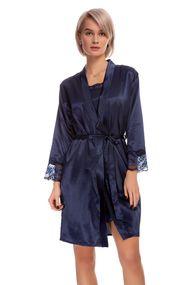 Халат і сорочка, шовк, код 61282, арт F50025-1