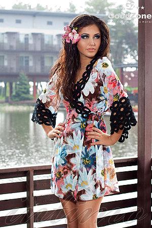 Пляжное платье, хлопок Ora, Украина 100137 фото