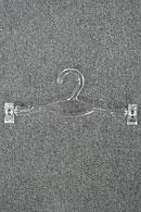 Вешалка-плечики для белья и одежды с прищепками