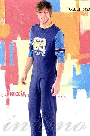 Пижама мужская, хлопок Buccia di mela, Италия UI1542A фото