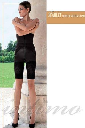 Формирующие шорты с высокой талией Trasparenze, Италия Scarlet фото
